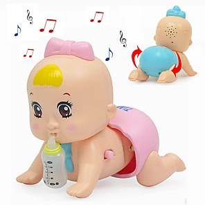 cheap Building Blocks-Pretend Makeup Set Pretend Makeup Play Music Family Baby Simulation Parent-Child Interaction Creepy Plastic Shell Child's Toddler All Toy Gift 1 pcs