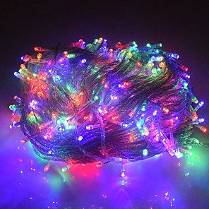 cheap LED String Lights-1pcs Holiday Led christmas Lights Outdoor 30M 300led led string lights decoration for party holiday wedding Garland