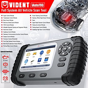 cheap OBD-VIDENT iAuto700 Professional Car Full System Diagnostic Tool for Engine Oil Light EPB EPS ABS Airbag Reset Battery Configuration