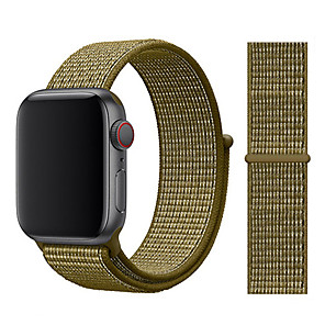 cheap Smartwatch Bands-Strap For Apple Watch band 44mm/40mm Sport loop iwatch band 5 42mm 38mm correa pulseira apple watch 5 3 4 band nylon watchband
