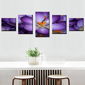 cheap iPhone Cases-5 Panels Modern Canvas Prints Painting Home Decor Artwork Pictures DecorPrint Rolled Stretched Modern Art Prints Nature Floral