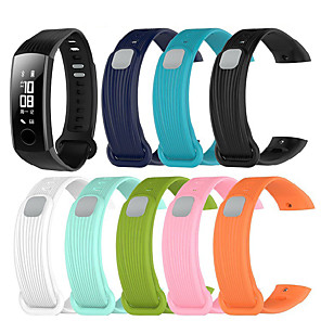 cheap Smartwatch Bands-Watch Band for Honor Band 3 Huawei Sport Band Silicone Wrist Strap