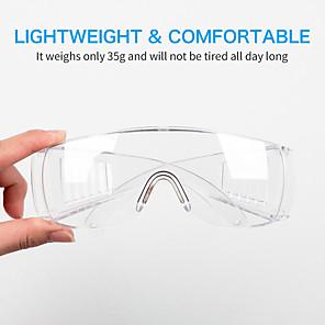 billige Personlig beskyttelse-vernebriller briller gjennomsiktige støvbeskyttende briller arbeidsbriller lab tannbriller spruter øyebeskyttende vindvind