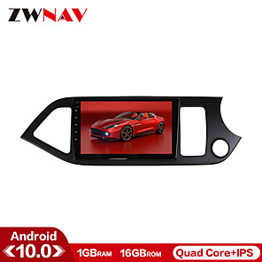 cheap Car DVD Players-ZWNAV 9inch 1din 1GB 16GB Android 10 Car Multimedia Player Car MP5 Player WiFi Bluetooth Car Radio GPS Navigation Steering Wheel Control for 2011-2015 KIA Picanto Morning