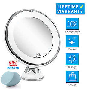 cheap Bathroom Gadgets-Mirror Adjustable / New Design / Creative Modern Contemporary / Fashion / Modern PVC(PolyVinyl Chloride) 1pc - tools Cosmetic Mirror