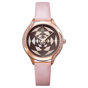 cheap Quartz Watches-Women's Quartz Watches Luxury Fashion Stainless Steel Japanese Quartz Blushing Pink Black Water Resistant / Waterproof 30 m 1 pc Analog One Year Battery Life