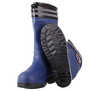cheap Men's Boots-Men's PVC Spring & Summer Boots Waterproof Mid-Calf Boots Black / Blue