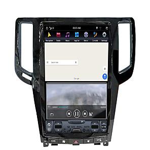 cheap Tattoo Transfers & Supplies-ZWNAV 13.5inch 1din Android 8.1 Tesla style 4GB 64GB Car GPS Navigation Car multimedia player Car MP5 Player For Infiniti G25 / Infiniti G37
