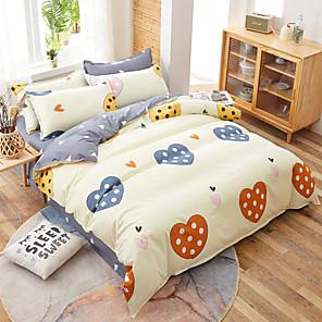 cheap Geometric Duvet Covers-Cartoon Bedding Set Cute Cats Printed 3D Duvet Cover Set Twin Full Queen