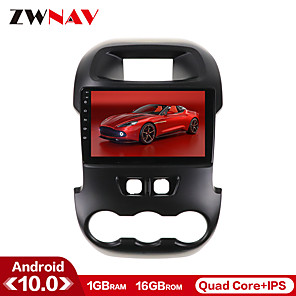 cheap Car DVD Players-ZWNAV 9 inch 1din 1GB 16GB Android 10.0 Car GPS Navigation Car Stereo Player Car Multimedia Player Car MP5 Player DSP CarPlay WIFI For Ford Ranger F250 2011-2014