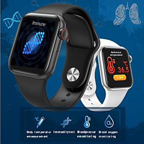 cheap Smartwatches-JSBP PW58  Smart Watch With Body Temperature Test Smart Watch Body Temperature Smart Bracelet Bt Heart Rate Blood Pressure Blood Oxygen For Android Ios System Mobile Phone