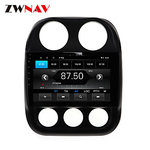 cheap Car DVD Players-ZWNAV 10.1 inch 1din 1GB 16GB  Android 10.0 Car MP5 Player Car GPS Navigation Car Stereo Player Car Multimedia PlayDSP CarPlay For Jeep Compass 2010-2016er