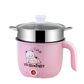 cheap novelty kitchen tools-Multifunctional electric cooker small hot pot cooking non-stick pot mini electric pot