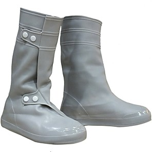 cheap Shoes Covers & Rainshoes-PVC(PolyVinyl Chloride) Shoe Cover Unisex Sports & Outdoor Black / Light Grey