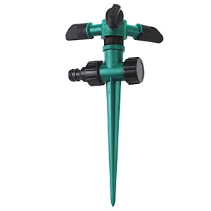 cheap Sprayer Guns-Ground-inserted 360-degree rotating sprinkler sprinkler lawn irrigation roof cooling garden sprinkler