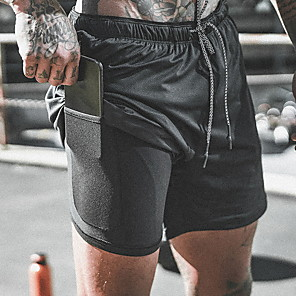 cheap Running & Jogging Clothing-Men's Sporty wfh Sweatpants Pants - Print Black White Army Green US36 / UK36 / EU44 US38 / UK38 / EU46 US40 / UK40 / EU48