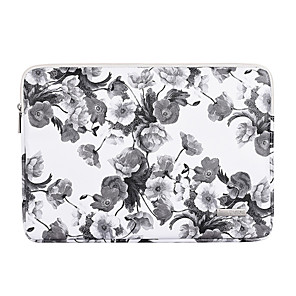 cheap Sleeves,Cases & Covers-11.6 13.3 14.1 15.6 inch Universal PU Leather Vintage Print Water-resistant Shock Proof Laptop Sleeve Case Bag for Macbook/Surface/Xiaomi/HP/Dell/Samsung/Sony Etc