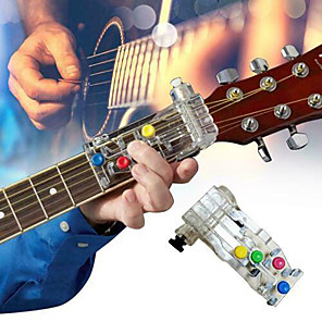 cheap Office Supplies & Decorations-Anti-Pain Finger Cots Guitar Assistant Tools Teaching Aid Guitar Learning System Teaching Aid For Guitar Beginner Learning