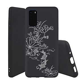 cheap Samsung Case-Case For Samsung Galaxy S10 / Galaxy S10 Plus / Galaxy S10 E Ultra-thin / Pattern Back Cover Flower TPU For Galaxy S20/S20 Plus/S20 Ultra/A51/A71/Note 10/Note 10 Plus