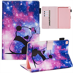 cheap Samsung Case-Case & Pen For Samsung Galaxy Samsung Tab A 8.0(2019)/ E 8.0 /A 7.0 / A8(2019)P200/205 Dustproof / with Stand / Flip Back Cover cats PU Leather