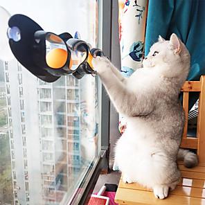 Недорогие Зонты-лимонбест домашняя кошка забавный шарик игрушка присоски окна кошка игрушка играть трубу с шариками игрушка кошка трек играть туннель игрушки для животных продукты