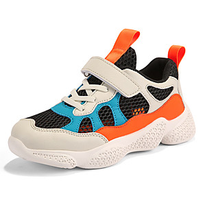 cheap Women's Boots-Boys' / Girls' Comfort Mesh Trainers / Athletic Shoes Little Kids(4-7ys) / Big Kids(7years +) Running Shoes / Walking Shoes Black / Pink / Beige Summer / Fall / Color Block / Rubber