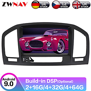 cheap Car Rear View Camera-ZWNAV 8inch 2din 4GB 64GB Android 9 Car CD DVD Player Car GPS navigation Car Multimedia Player radio tape recorder For Opel Vauxhall Holden Insignia 2008-2013