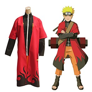 cheap Anime Costumes-Inspired by Naruto Uzumaki Boruto Anime Cosplay Costumes Japanese Outfits Cloak For Men's Women's