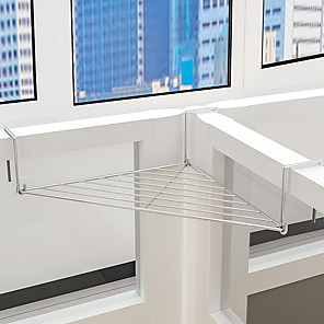 cheap Wallpaper-Stainless Steel Racks Triangle New Design Home Organization Storage 1pc