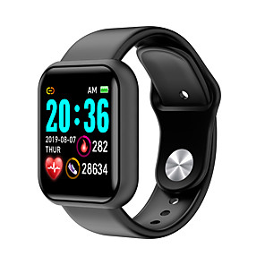 cheap Smartwatches-L18 Unisex Smartwatch Android iOS Bluetooth Waterproof Heart Rate Monitor Blood Pressure Measurement Distance Tracking Information Pedometer Call Reminder Activity Tracker Sleep Tracker Sedentary