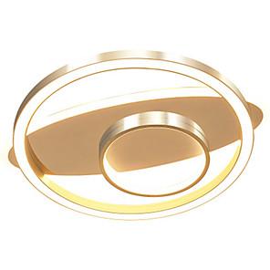 cheap OBD-Nordic Creative Network Lighting Modern Golden Ring Living Room Topping 47 w
