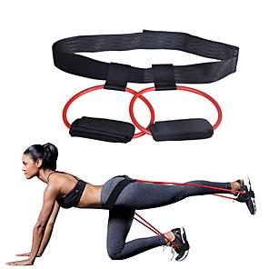 povoljno Odjeća za fitness, trčanje i jogu-Pojas pojasa otpora plijena Sportski Emulzija Yoga Pilates Sposobnost Izdržljivost Trener za okomiti skok Za Žene