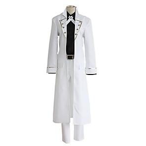 cheap Anime Costumes-Inspired by K Yashiro Isana Anime Cosplay Costumes Japanese Cosplay Suits Coat Shirt Pants For Men's Women's / Belt / Tie