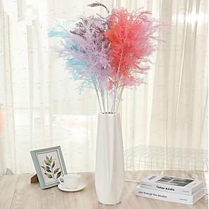 cheap Artificial Plants-1Pcs Simulation Of Anemone Fog Wholesale Fake Flowers Plastic Grass Wedding Wedding Scene Layout Romantic Atmosphere Flowers