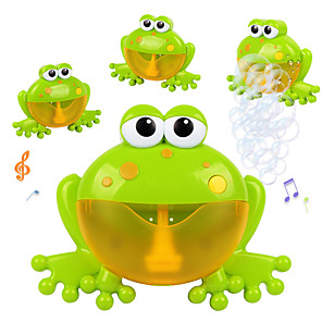 cheap Inflatable Ride-ons & Pool Floats-Bubble Machine Lovely Parent-Child Interaction Funny Plastic Shell Frog 1 pcs All Adults