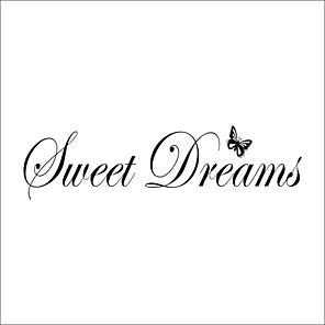 cheap Wall Stickers-Sweet dreams Decorative Wall Stickers Stars Nursery / Kids Room