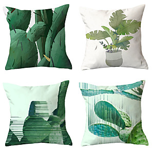 cheap Pillow Covers-4 pcs Throw Pillow Simple Classic 45*45 cm