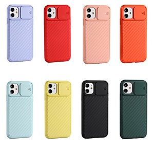 cheap iPhone Cases-Case For Apple iPhone 11 / iPhone 11 Pro / iPhone 11 Pro Max Ultra-thin Back Cover Solid Colored TPU