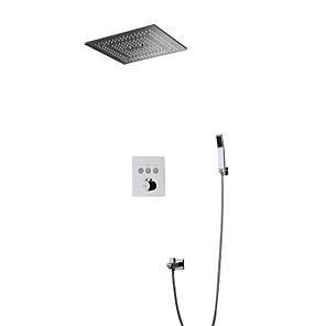 povoljno Kuhinjski sudoperi-garnitura za tuširanje - rukohvat uključen vodio kišni tuš tuš suvremena kromirana zidna instalacija keramički ventil za kadu slavina za mikser