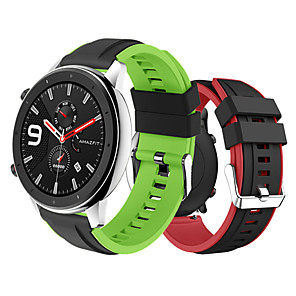 cheap Smartwatch Bands-Watch Band for Amazfit GTR 47mm Xiaomi Sport Band Silicone Wrist Strap
