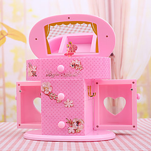 cheap iPhone Cases-Jewelry Box - White, Pink 20 cm 11 cm 18 cm / Women's