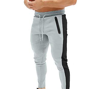 povoljno Odjeća za fitness, trčanje i jogu-Muškarci Trkaće hlaće Harem hlače Crn Tamno siva Obala Crvena Zelen Trčanje Fitness Trening u teretani Donji Sport Odjeća za rekreaciju Prozračnost Puha Rastezljivo