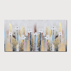 cheap Abstract Paintings-Hand Painted Canvas Oilpainting Abstract by Knife Home Decoration with Frame Painting Ready to Hang