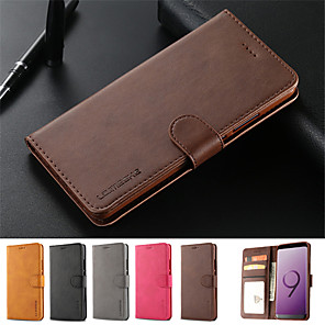 cheap iPhone Cases-Leather Flip Stand Magnetic Wallet Phone Case for iPhone 11 11 Pro 11 Pro Max XS Max XR XS X 8 8 Plus 7 7 Plus 6s 6sPlus