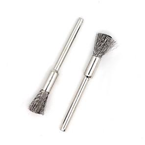 cheap Vapor Accessories-YUHETEC Stainless Steel Brush 4CM 2PCS
