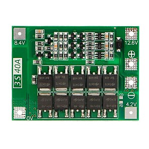 cheap Motherboards-3S 40A Bms Board 11.1V 12.6V 18650 Li-Ion Lithium Battery Protection Board