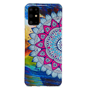 cheap Samsung Case-Case For Samsung Galaxy S20 / S20 Ultra / Glow in the Dark / Pattern Back Cover Flower TPU for Galaxy A10 A20 A30 A30S A40 A50 A50S A60 A70 A80 A90 M10 M20 NOTE9 NOTE10 NOTE10 PRO