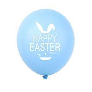 cheap Christmas Decorations-Happy easter bunny egg Holiday Decorations ballon