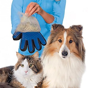 cheap Other Hand Tools-Nicrew cat grooming glove for cats wool glove Pet Hair Deshedding Brush Comb Glove For Pet Dog Cleaning Massage Glove For Animal