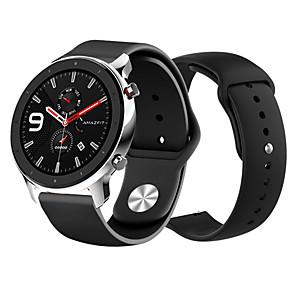 cheap Smartwatch Bands-Watch Band for Amazfit Pace / Amazfit Stratos / Amazfit GTR 47mm Amazfit Modern Buckle Silicone Wrist Strap